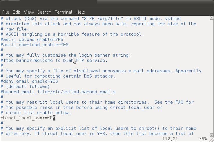 vsftpd configuration in ubuntu | dawnlinux
